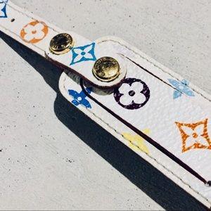 Louis Vuitton Jewelry - {Louis Vuitton}  Monogram Wish/ID Bracelet